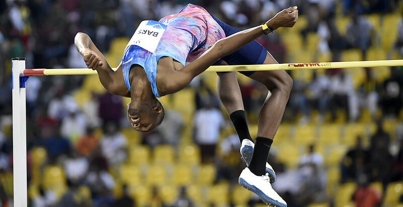 Mutaz Barshim, reigning world champion.