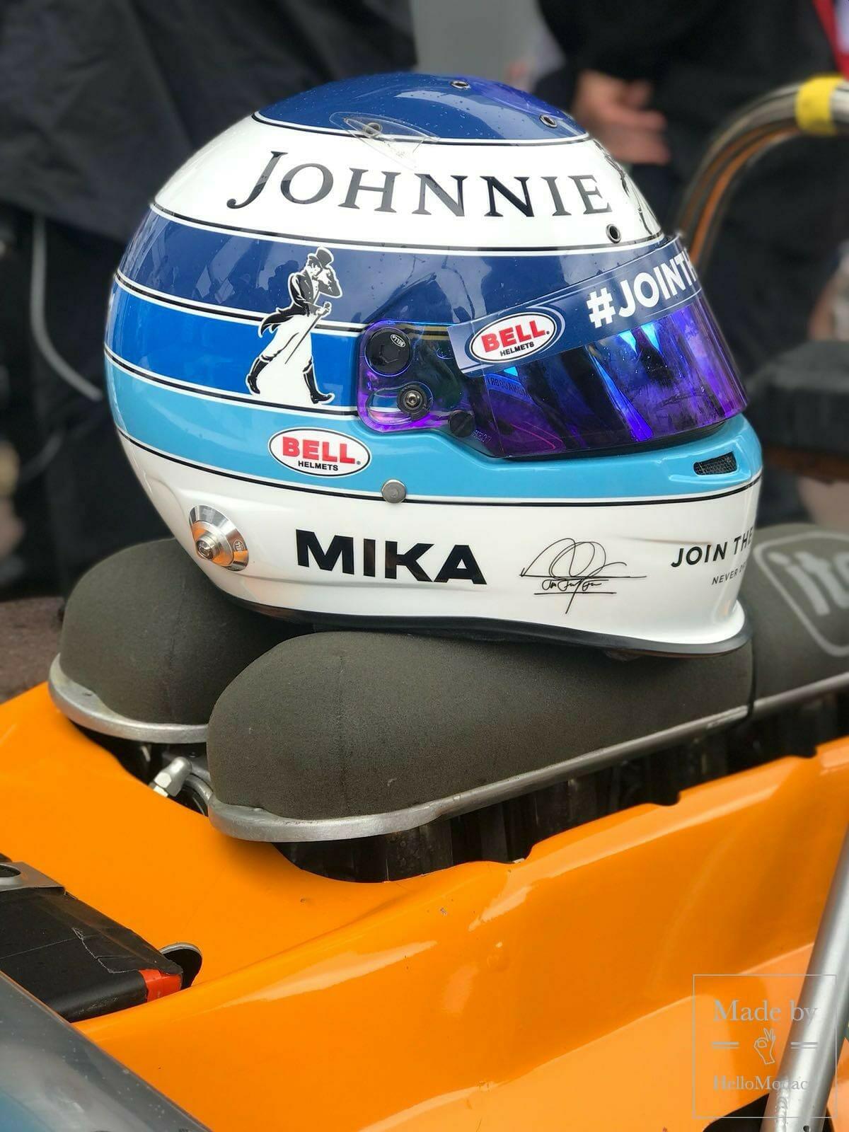 Mika Hakkinen's Helmet