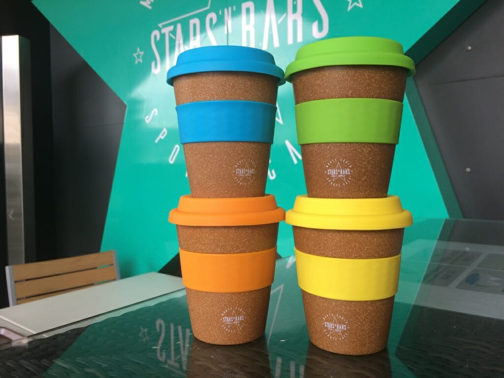Stars'N'Bars reusable cup bamboo