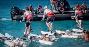 Water-bike challenge