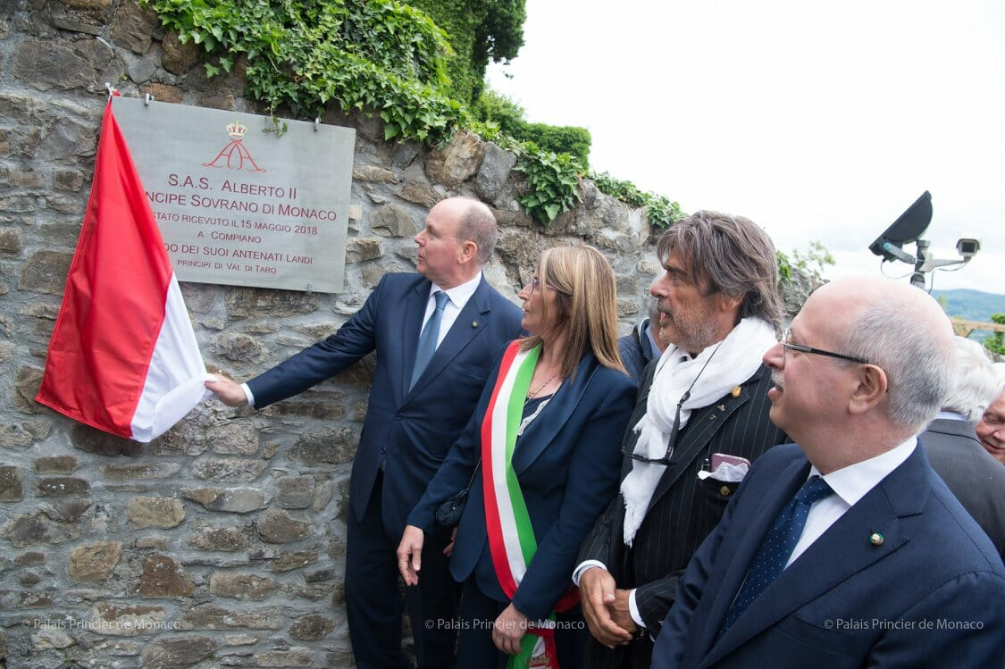 Prince Albert II visits Bardi