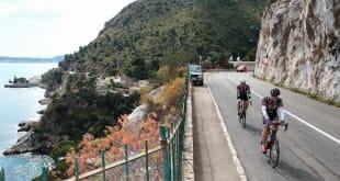 Prince Albert participates in Charity Bike Race
