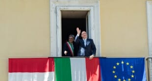 Prince Albert II in Naples