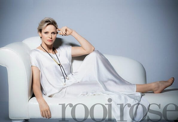 Princess Charlene on the cover of South African Magazine