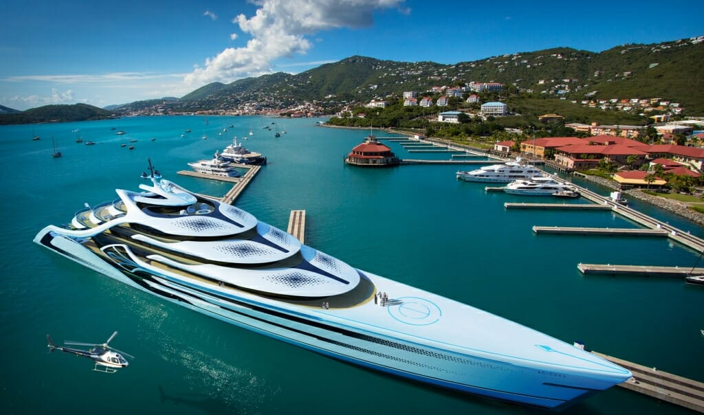 Photo of 175-metre superyacht concept Acionna and other yacht news