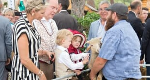 1st Historic Grimaldi Sites Meeting Petting zoo