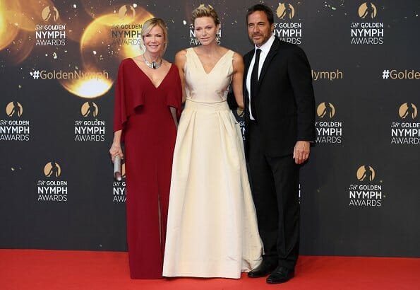 Princess Charlene at the Monte-Carlo Television Festival