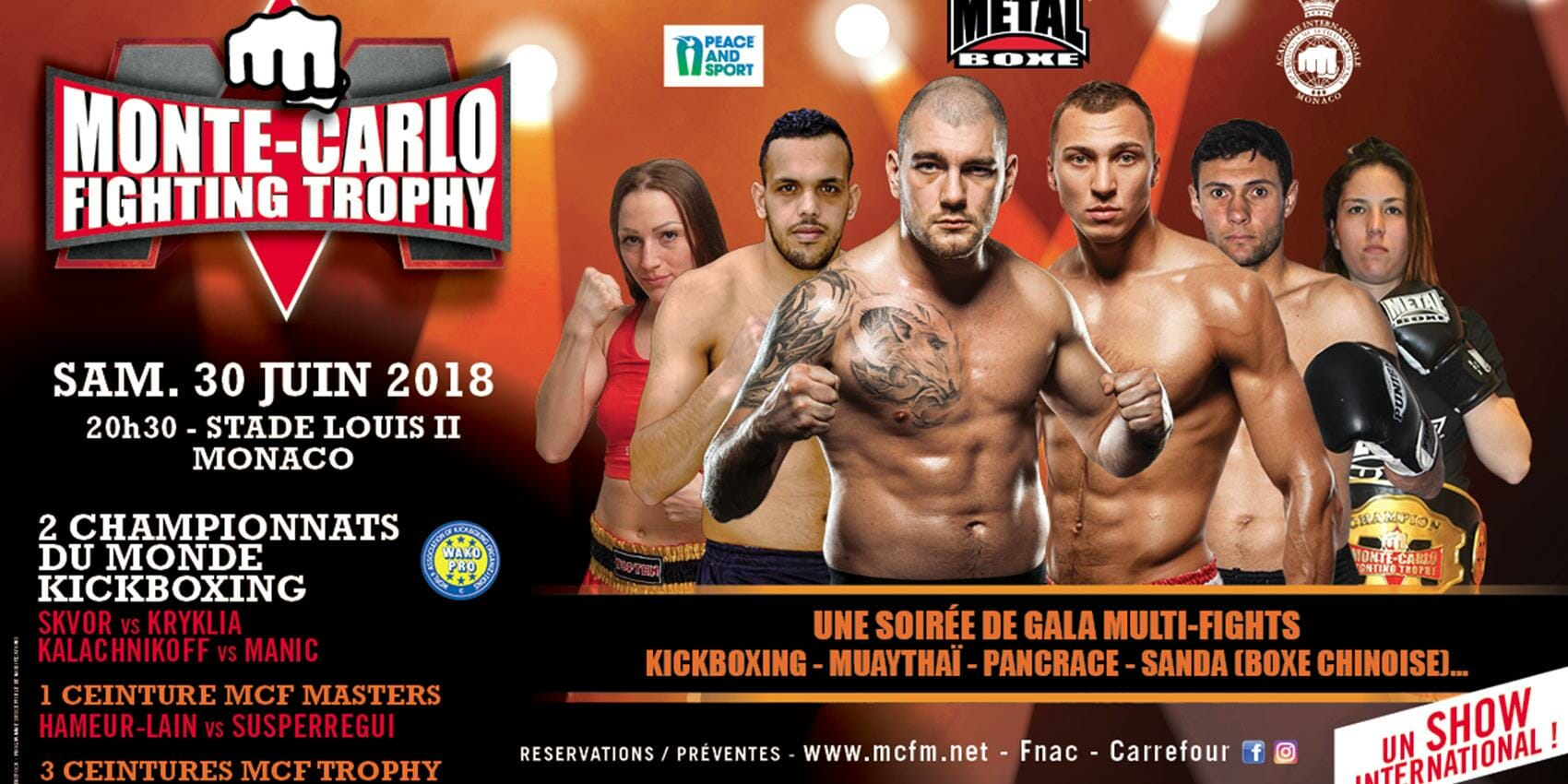 Monte Carlo Fighting Trophy - 2018 на стадионе Луи II