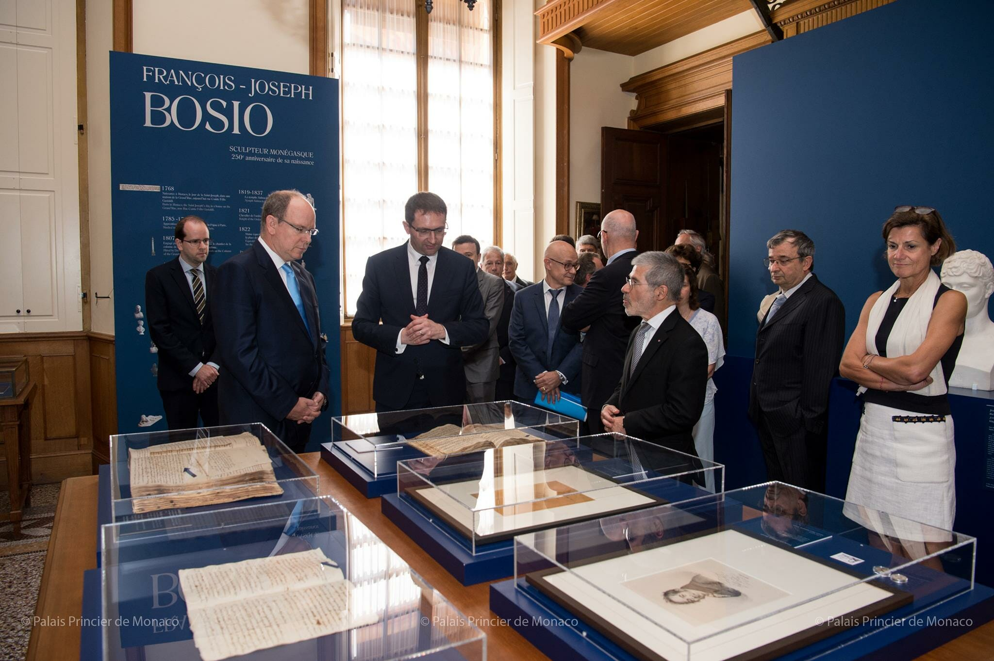 Prince inaugurates Bosio exhibition