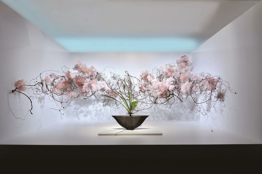 Photo of Traditional Japanese art of Ikebana honoured in the Principality
