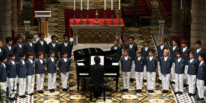 Two Monegasque Children's Choirs