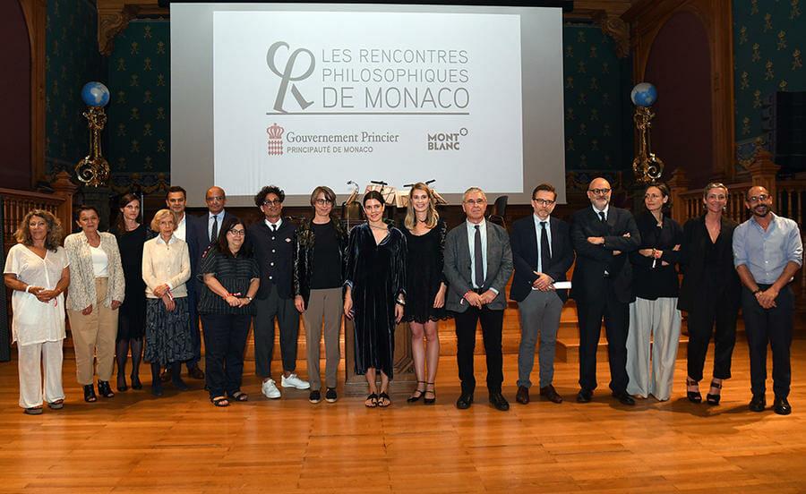 Photo of Philosophical Meetings of Monaco Prize: Etienne Bimbenet