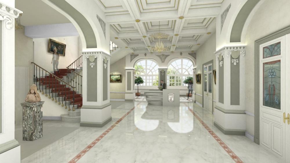 Monaco renovated town hall