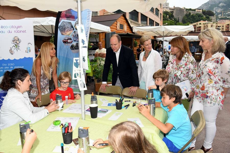 Prince Albert attends 14th Monacology Event
