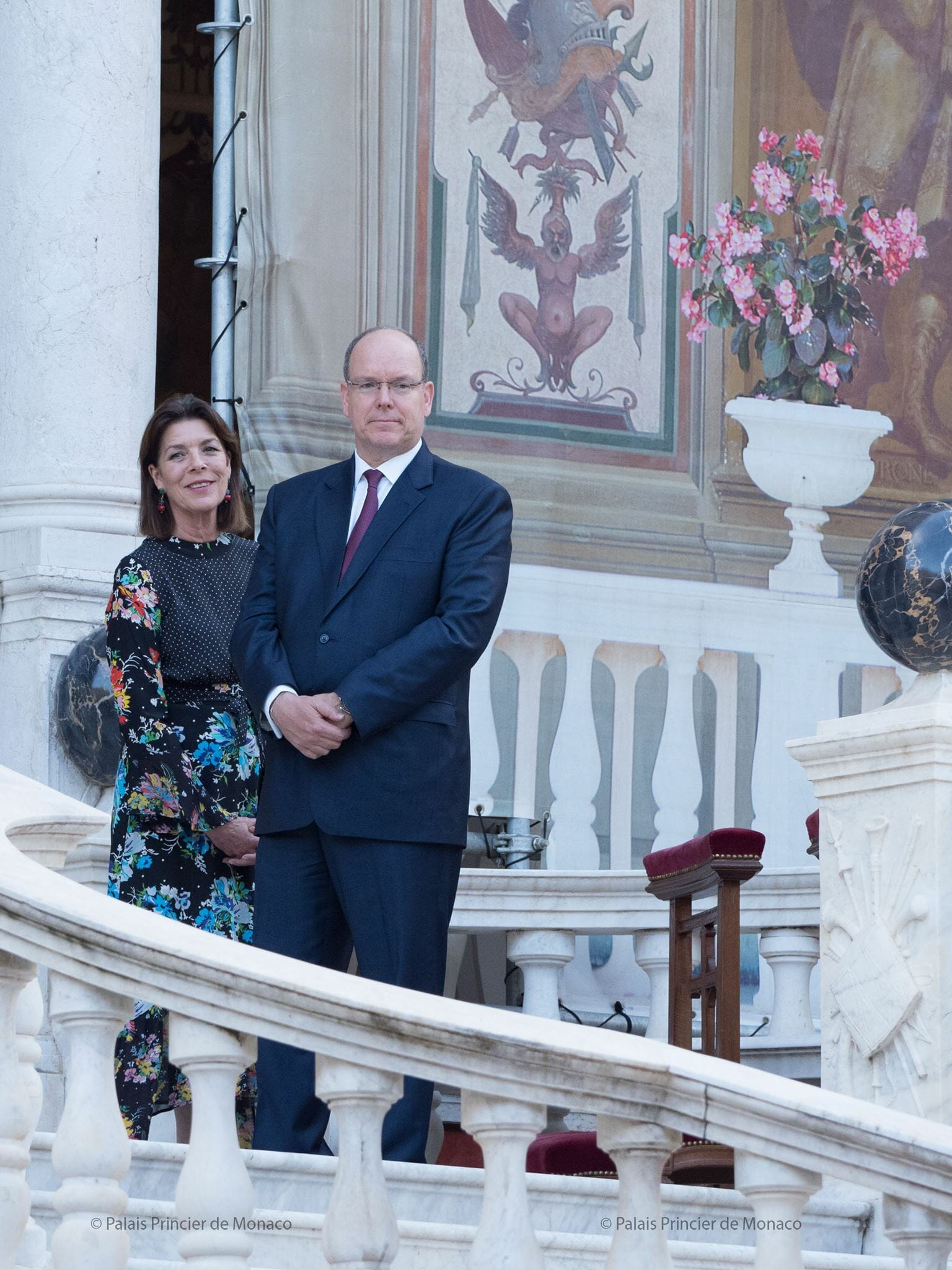 Prince Albert and Princess Caroline Feast of Corpus Christi