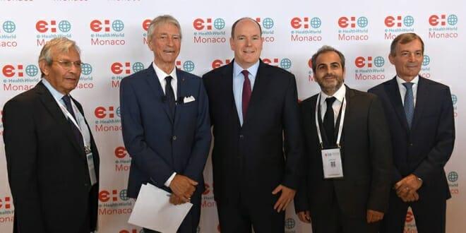 Prince Albert inaugurates e-HealthWorld Monaco