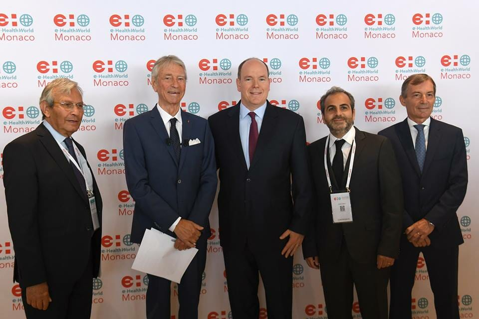 Photo of Prince Albert inaugurates e-HealthWorld Monaco and other princely news