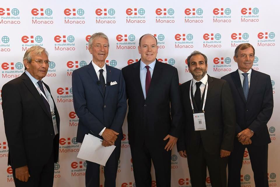 Photo of Prince Albert inaugurates e-HealthWorld Monaco and other princely news