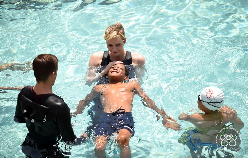 Princess Charlene drowning prevention