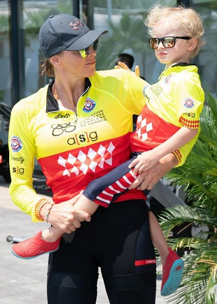 Prince Albert and Princess Charlene attended the RWBC in Monaco