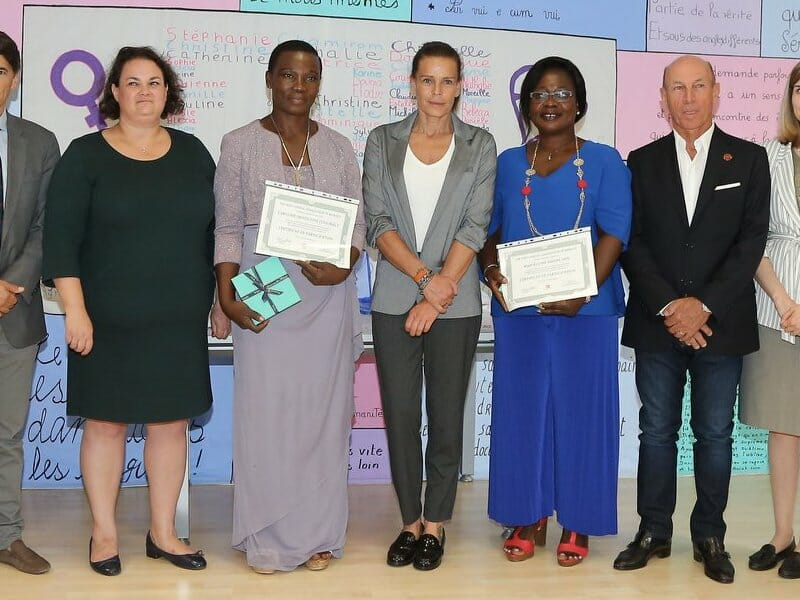 Princess Stéphanie awards Midwives from Côte d'Ivoire