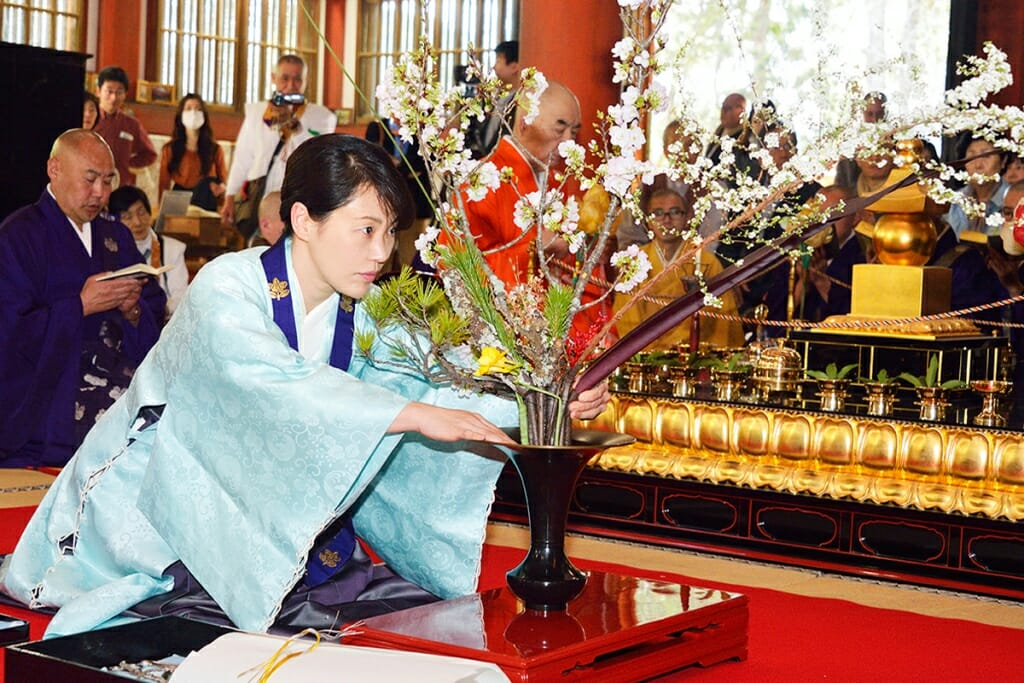 Photo of Traditional Japanese art of Ikebana honoured in the Principality and other Monaco news