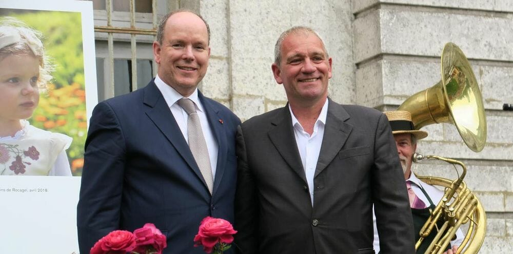Photo of New Roses named after Prince Jacques and Princess Gabriella and other princely news