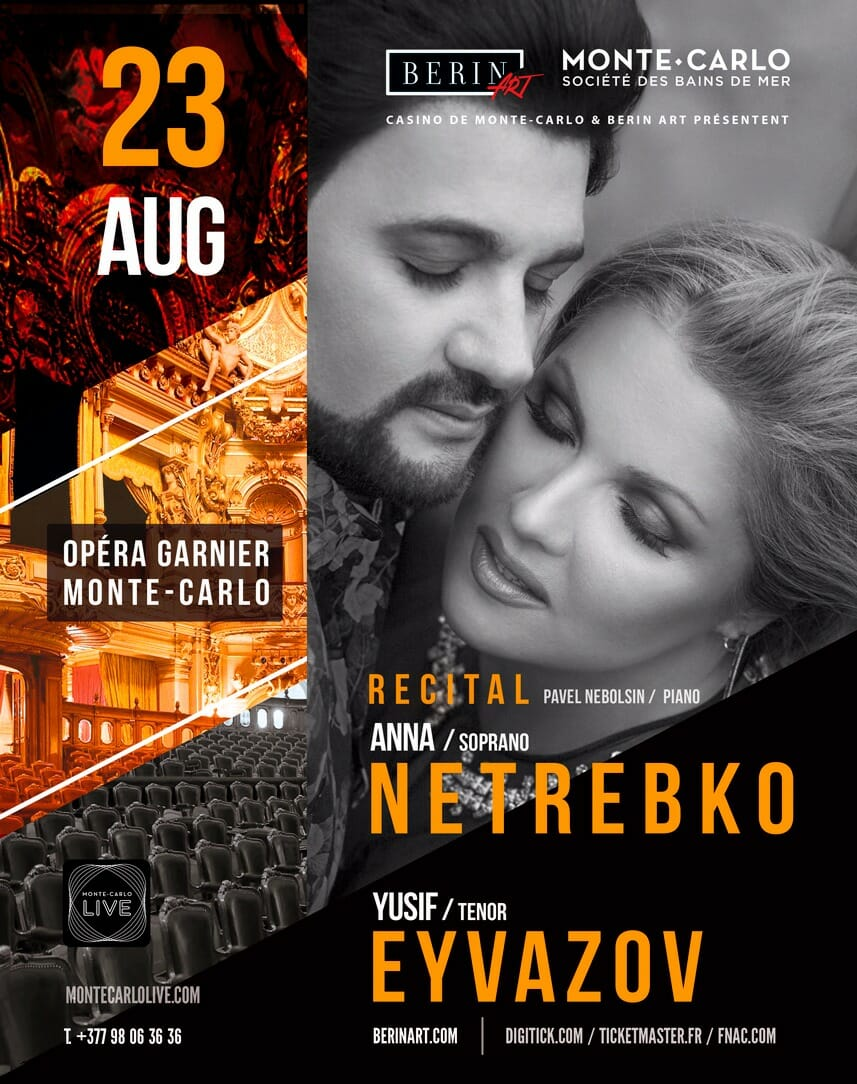 evening with soprano Anna Netrebko and tenor Yusif Eyvazov