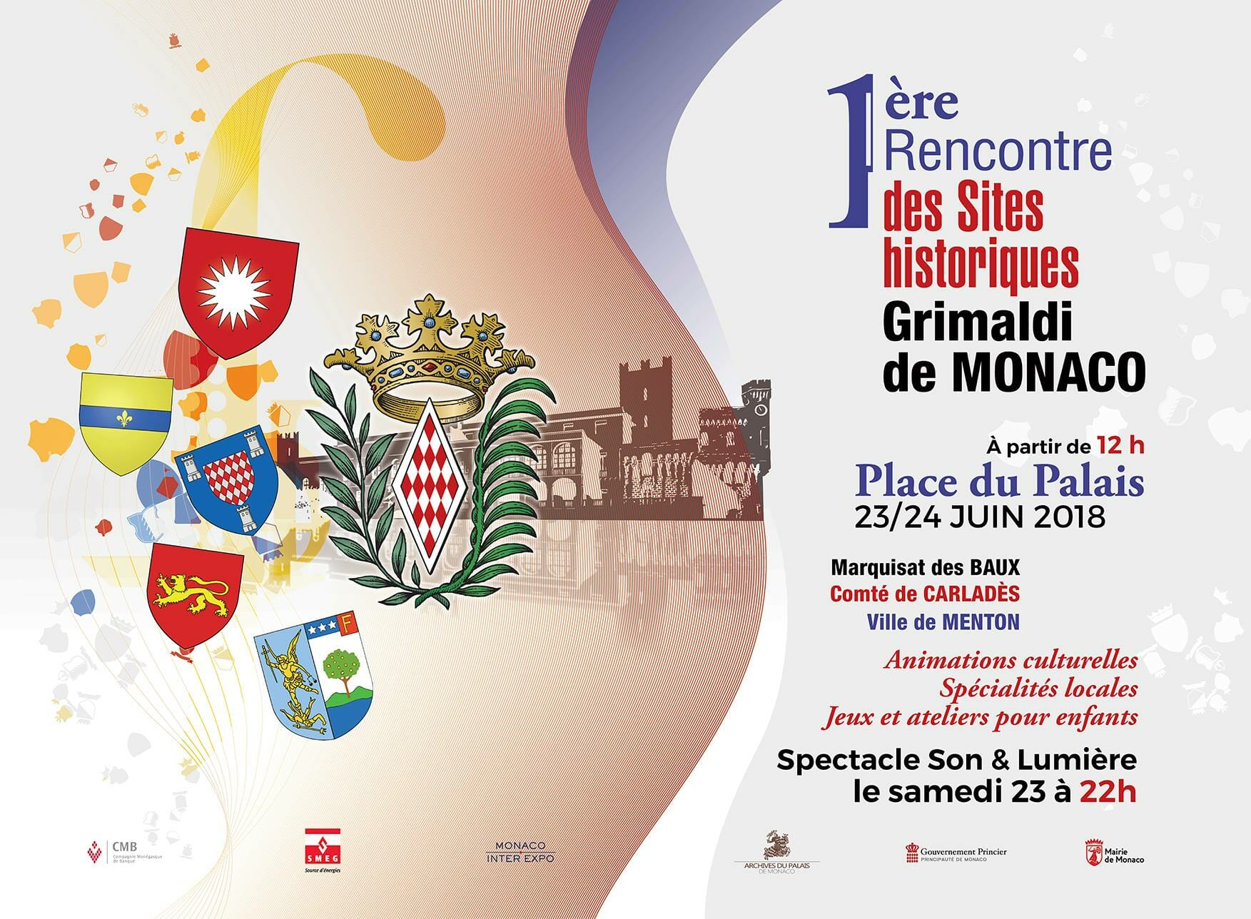 Meeting of Historical Sites of the Grimaldis of Monaco