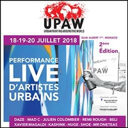 2e UPAW - Urban Painting Around the World 2018