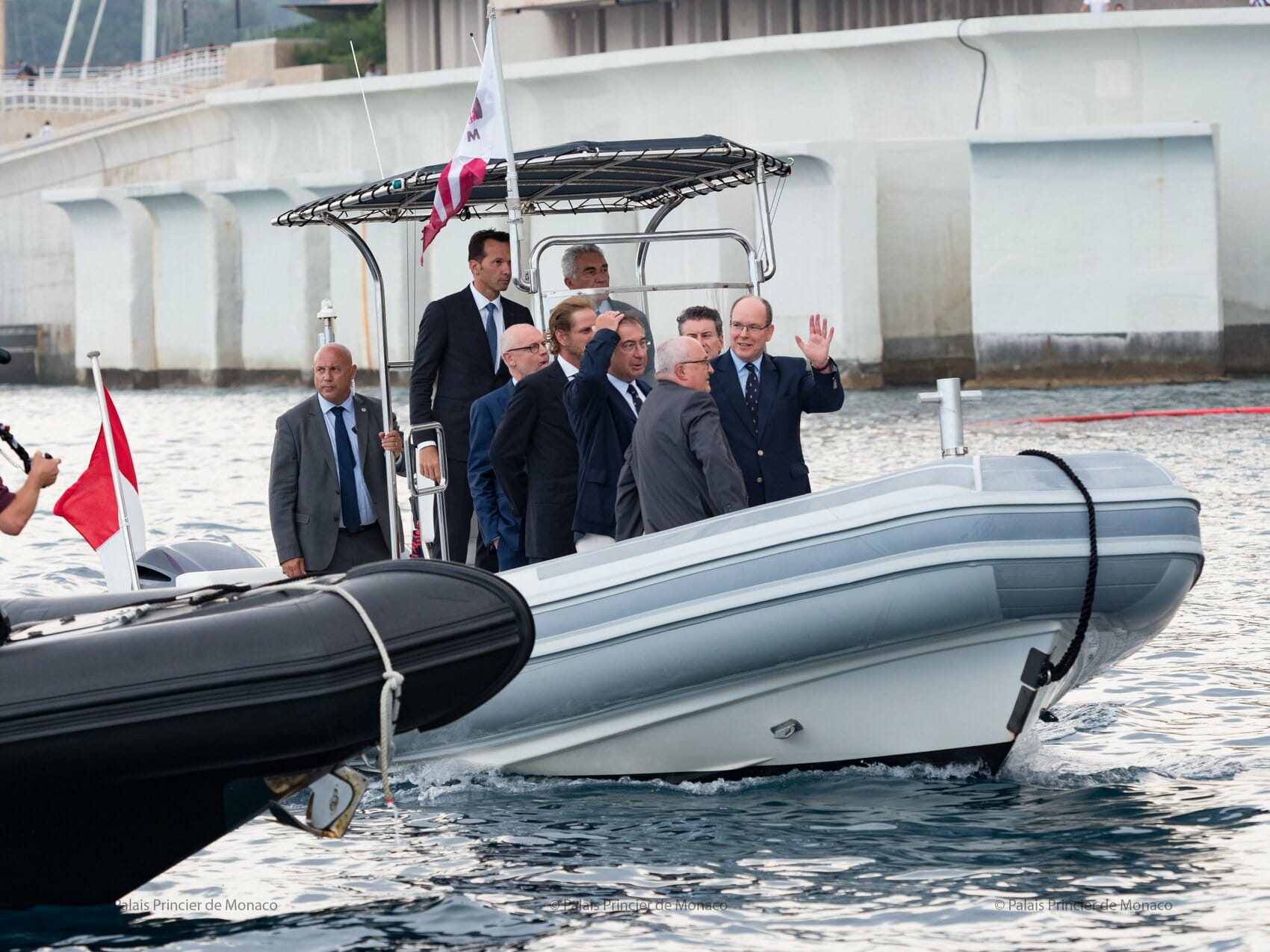 Inauguration of the caisson