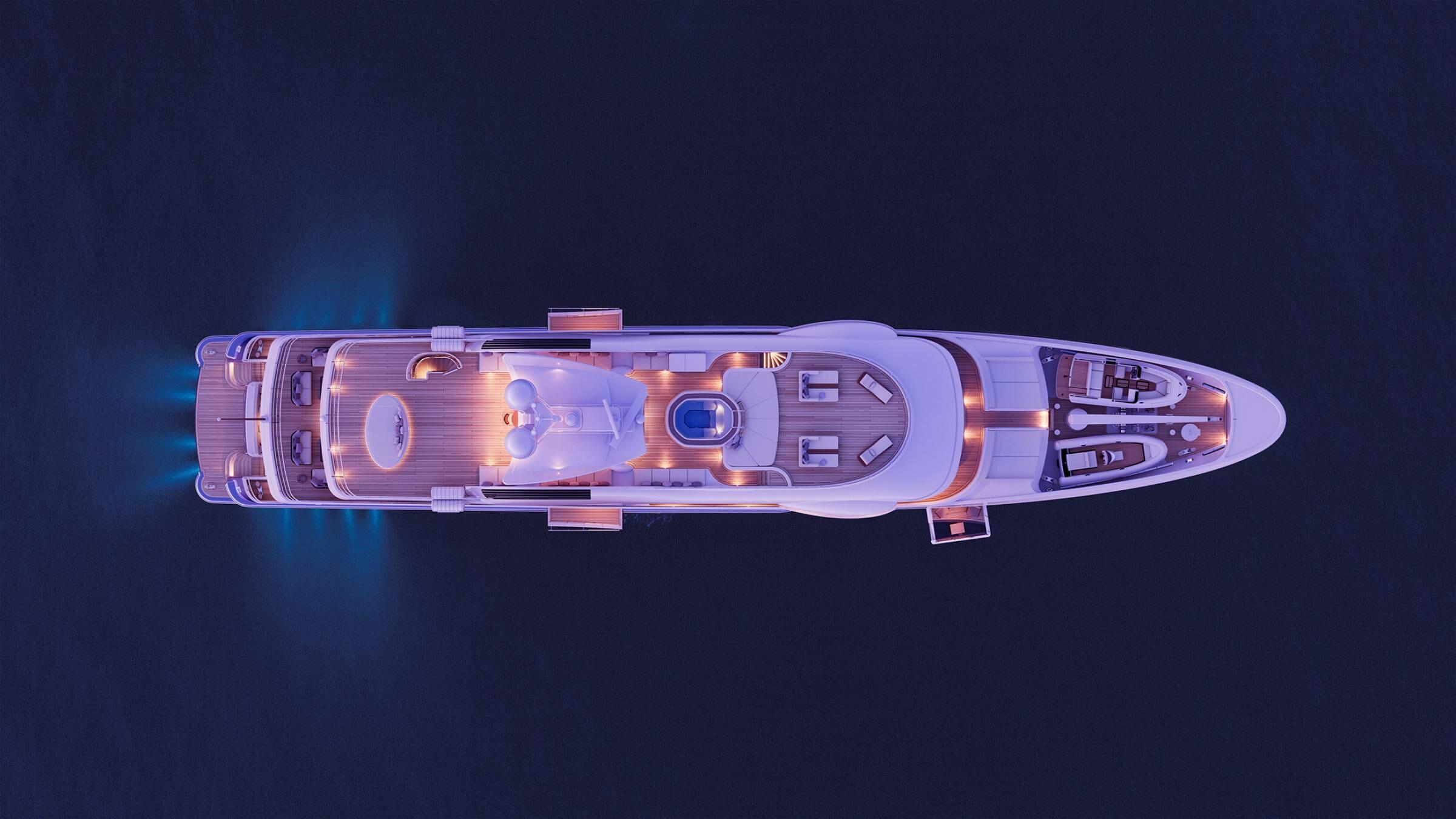 Amels LE180 superyacht Eji
