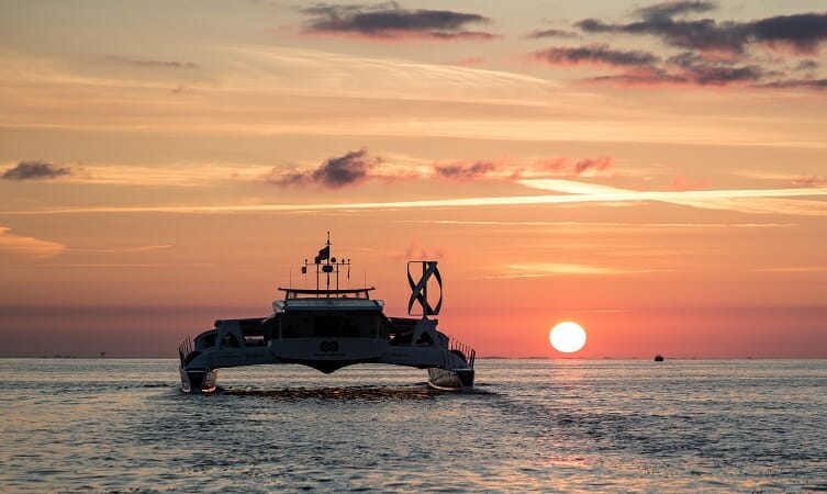 The world's first hydrogen boat sails into the future with Toyota