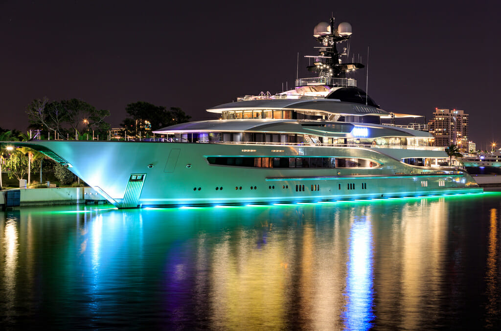 95-metre superyacht Kismet