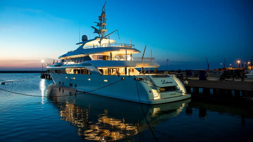 Photo of 50-metre CRN superyacht Latona premiere at Monaco Yacht Show 2018
