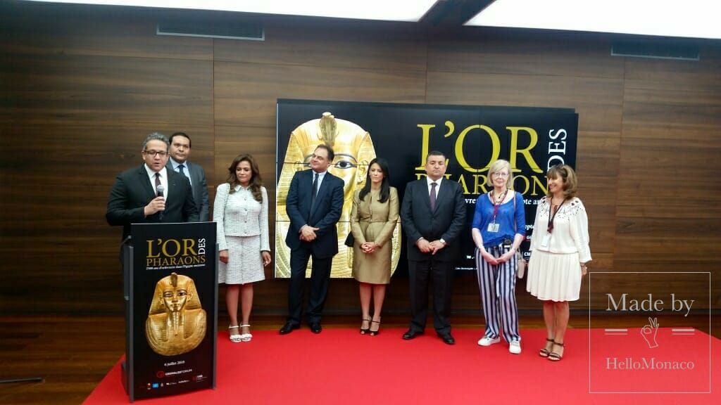 "Grimaldi Forum: ""The Golden Treasures of the Pharaohs"""