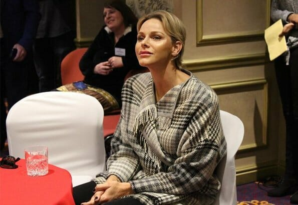 Princess Charlene visits Benoni town of South Africa