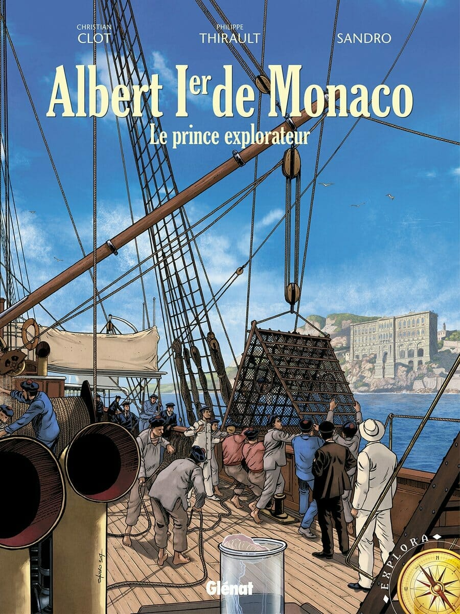 Comic Book About Albert I