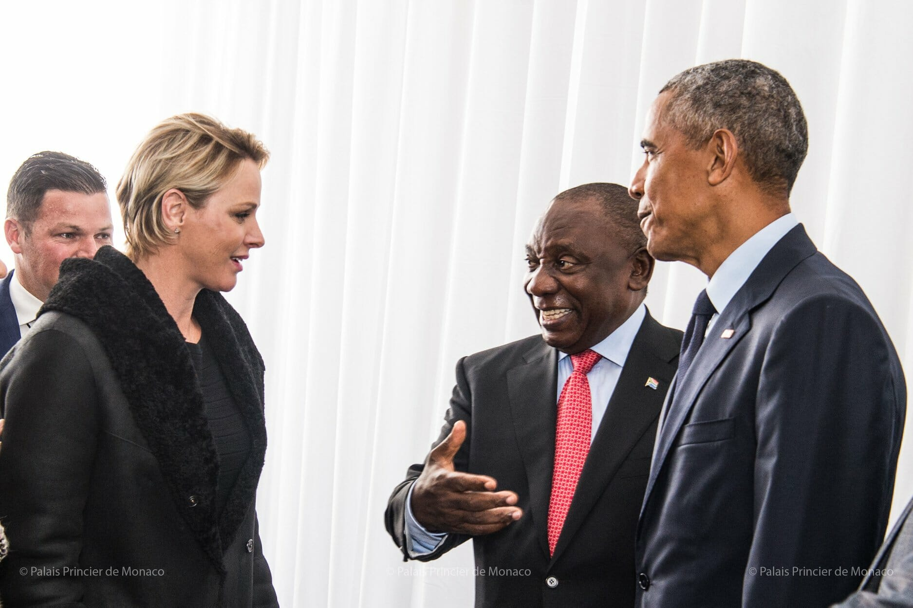 Princess Charlene visits South Africa