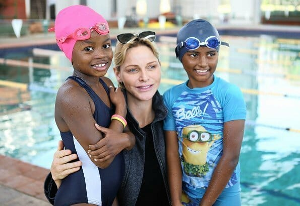 Princess Charlene visits Pinetown