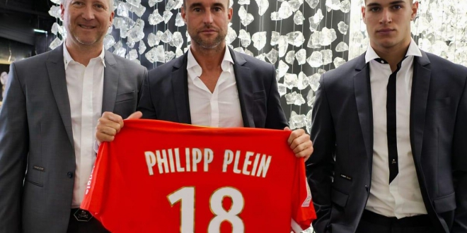 AS Monaco and designer Philipp Plein