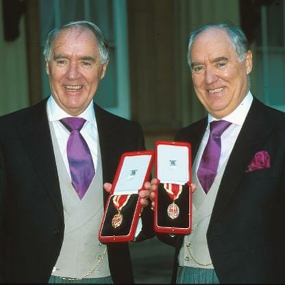 Sir David & Sir Frederick Barclay