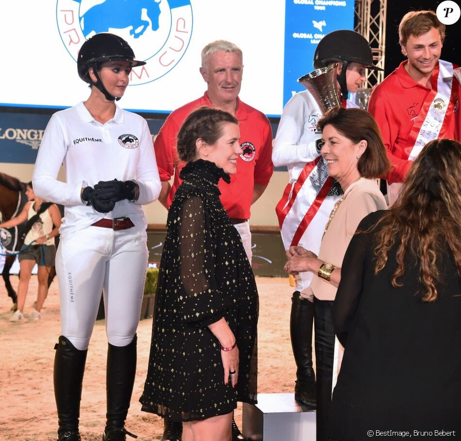 Charlotte Casiraghi at the Jumping de Monte-Carlo