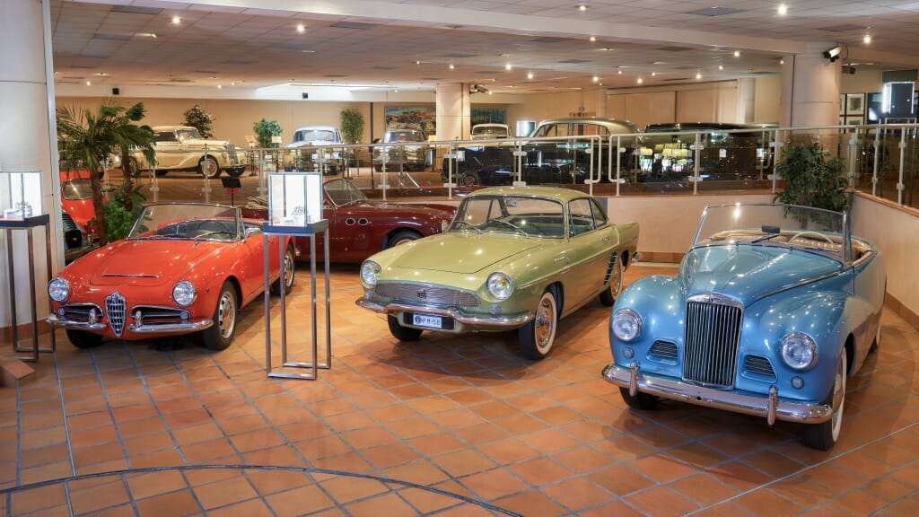 The cars collection of H.S.H. The Prince of Monaco