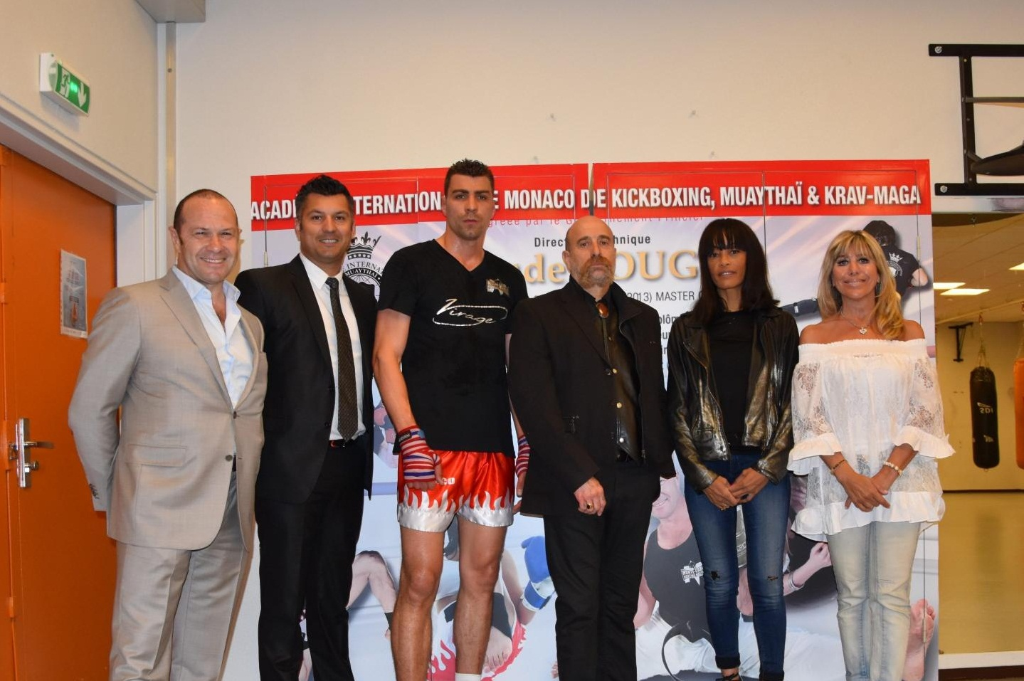 Photo of Gabriel La Ruffa joins the Monegasque Federation of Kickboxing