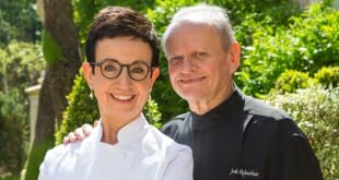 Carme Ruscalleda and Joel Robuchon
