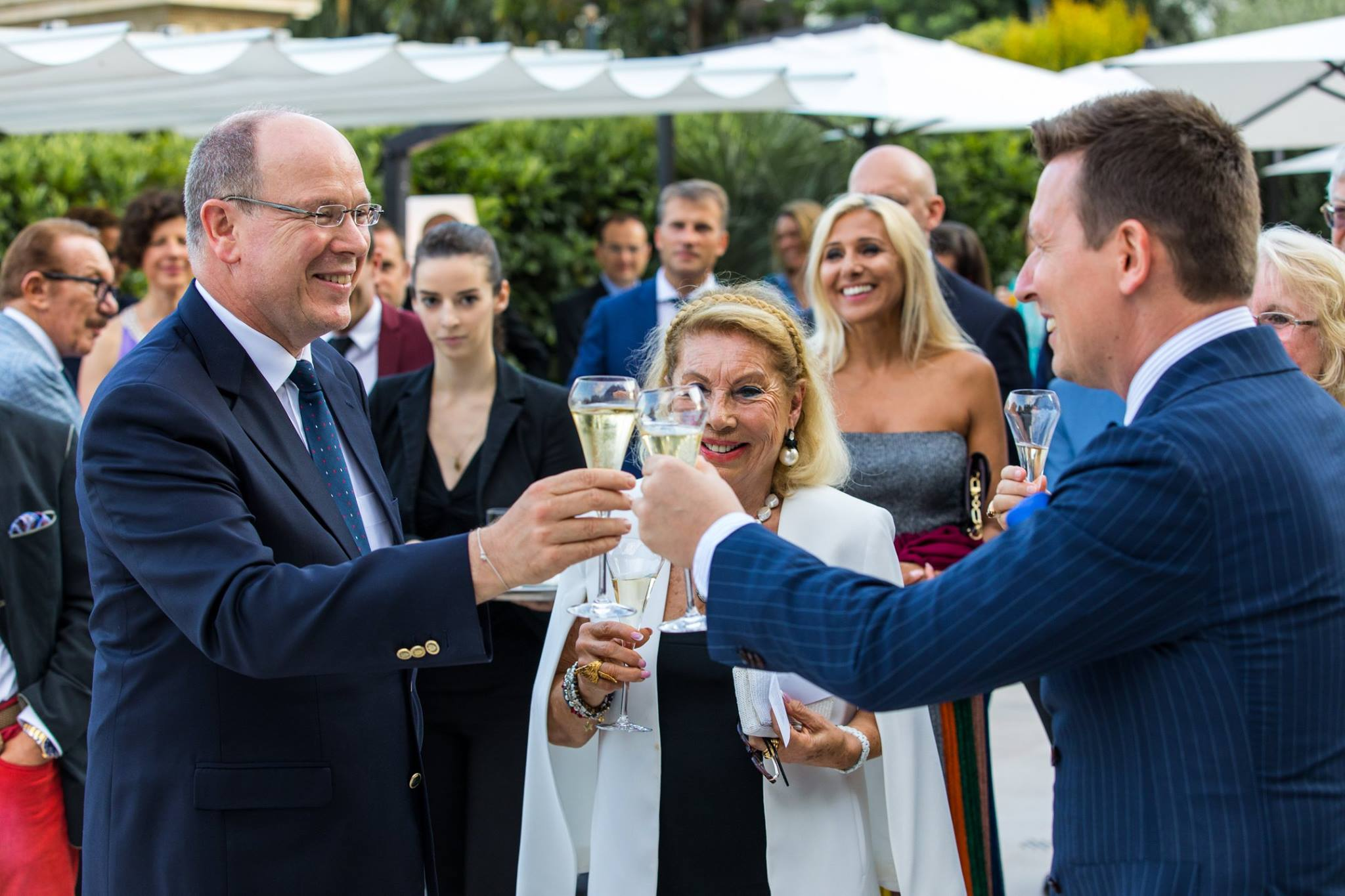 Prince Albert at CREM Anniversary