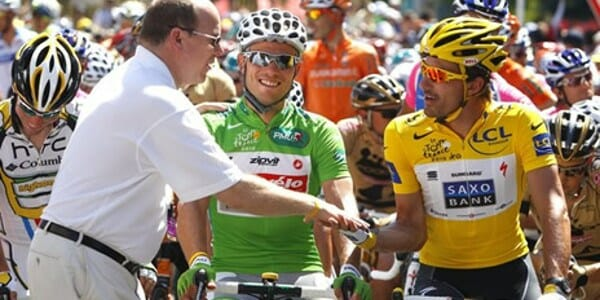 Photo of H.S.H. Prince Albert attends Tour de France and other princely news