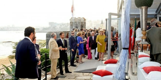 Reception at Monaco's Embassy in Portugal