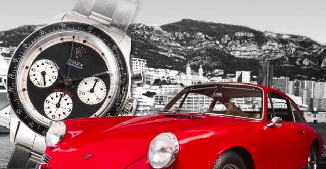 Rolex Porsche Monaco Auction